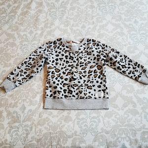 New H&M childrens 2-4Y animal print sweater